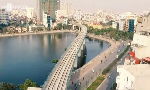 从上面体验Cat Linh  -  Ha Dong火车站