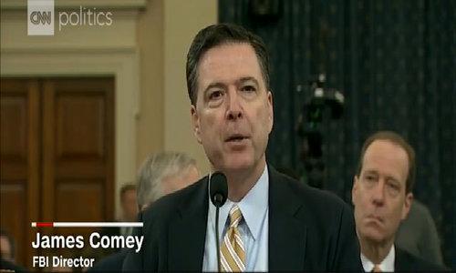 联邦调查局局长宣布调查俄罗斯干预美国大选