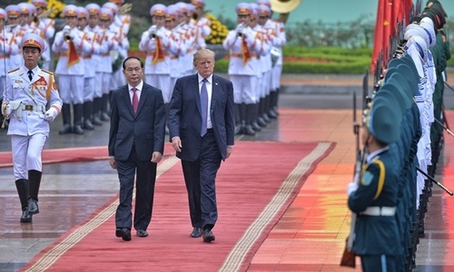Tran Dai Quang总统的活动为期2年