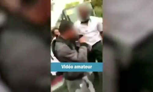 """公交车司机在法国打了一个12岁男孩,因为有争议的""""混乱"""""""