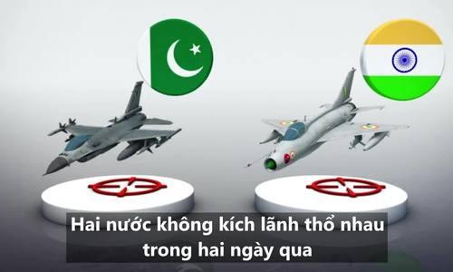 印度和巴基斯坦的事态发展击落了对方的战士