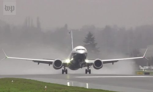 美国betway体育注册网址解释说,该系统可能会对波音737 MAX造成灾难
