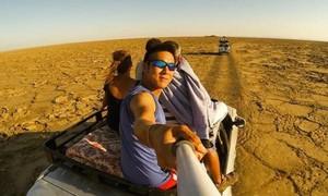 Chàng trai dành ba năm du lịch bụi 60 nước