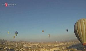 Ngắm bình minh từ trên khinh khí cầu ở Thổ Nhĩ Kỳ