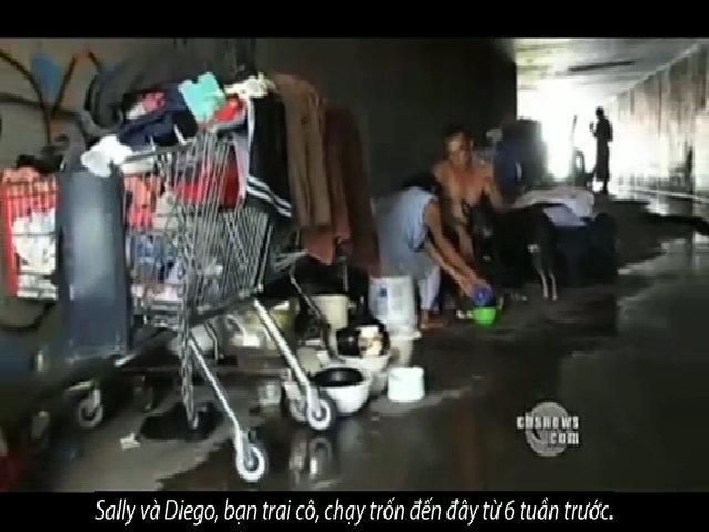 Những con người sống dưới cống ngầm của Las Vegas