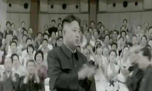 Kim Jong-un xem Disney show