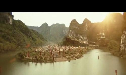 Làng thổ dân trong 'Kong' được dựng lại ở Ninh Bình