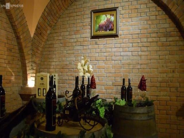 Lâu đài rượu vang hút khách ở Phan Thiết
