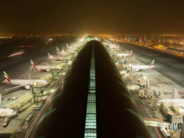 Một ngày ở sân bay quốc tế Dubai