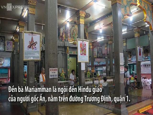 Ngôi đền Ấn Độ hơn một thế kỷ giữa lòng Sài Gòn
