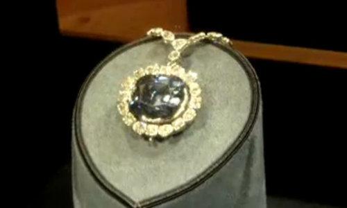 Viên kim cương mang lời nguyền trong bảo tàng Mỹ