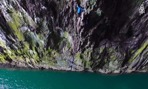 Những 'người nhện' leo núi bằng tay không ở Trung Quốc