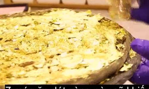 7 món ăn dát vàng độc đáo nhất thế giới