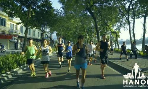 Hà Nội quảng bá hình ảnh qua giải marathon quốc tế đầu tiên