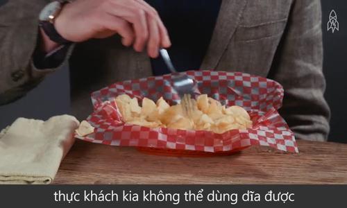 Sự ra đời của món snack nổi tiếng nhất thế giới