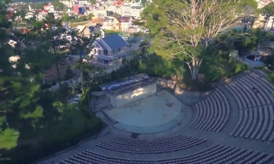 Toàn cảnh thành phố Đà Lạt từ trên cao