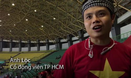 Cổ động viên tại Indonesia dự đoán Việt Nam sẽ thắng Syria (Final)