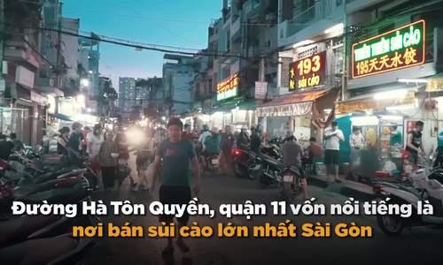 Con đường bán sủi cảo gốc Hoa dài nhất ở Sài Gòn