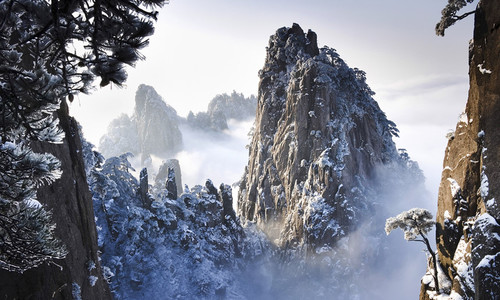 Vẻ đẹp hùng vĩ trên đỉnh núi Hoàng Sơn