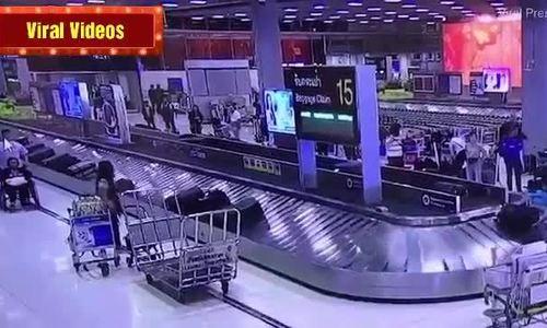 Khách Trung Quốc bị bắt vì trộm vali 5.000 USD tại Thái Lan