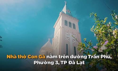 Nhà thờ hút khách nhất ở Đà Lạt