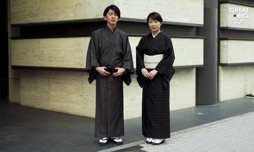 Nghề làm kimono nhuộm bùn từ 1300 năm trước ở Nhật