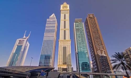 Toàn cảnh thành phố Dubai