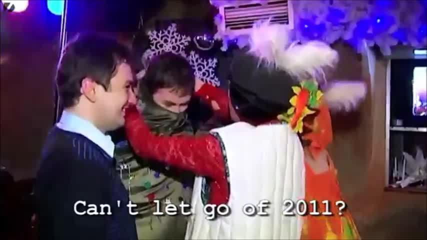 Nơi nào cũng đón năm mới ở Nga