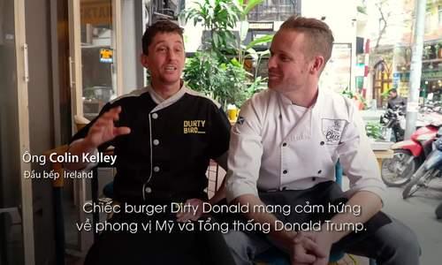 Burger Trump - Kim giá 150.000 đồng ra mắt trước thượng đỉnh Mỹ - Triều