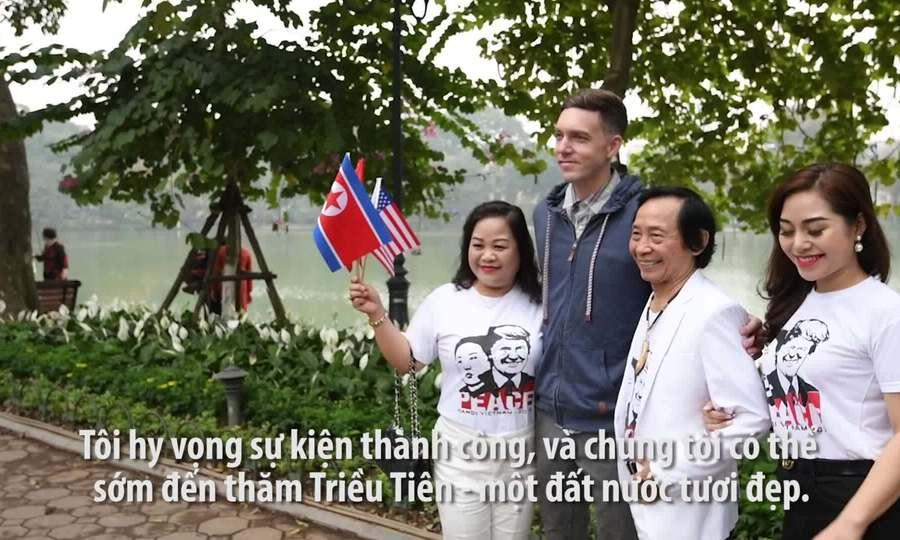 Khách Tây thích thú khi ở gần Chủ tịch Triều Tiên Kim Jong-un