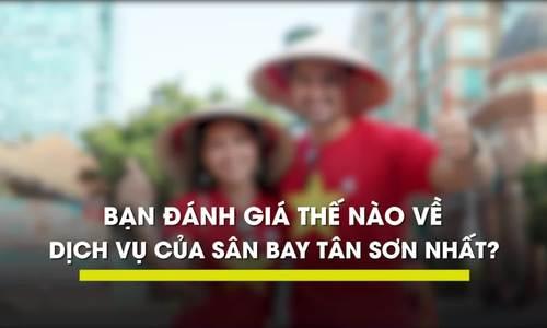 Khách Tây lần đầu thấy gián trong WC sân bay khi đến Tân Sơn Nhất