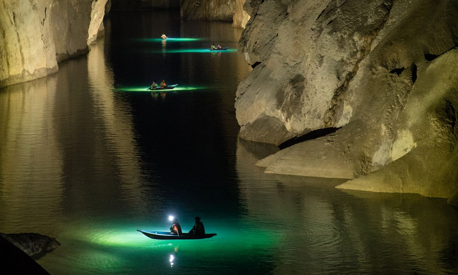 Quá trình tìm thấy hang ngầm ở Sơn Đoòng của 5 chuyên gia Anh