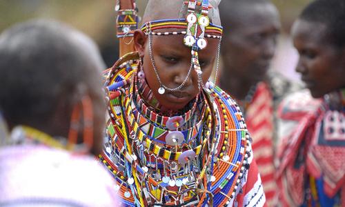 Những tập tục kỳ lạ của người Maasai trên thảo nguyên châu Phi