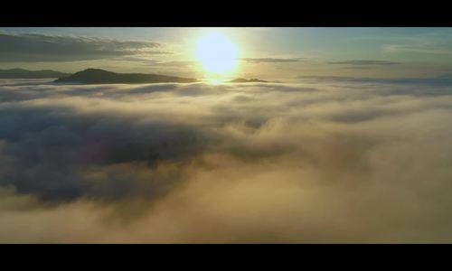 Sương giăng mờ ảo trên biển Hồ chè ở Gia Lai
