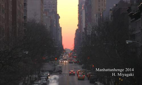 Ngày hàng nghìn khách ra đường ngắm hoàng hôn ở New York