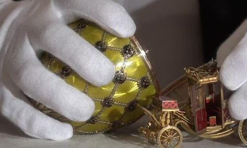 Những quả trứng Phục sinh xa xỉ của Sa hoàng