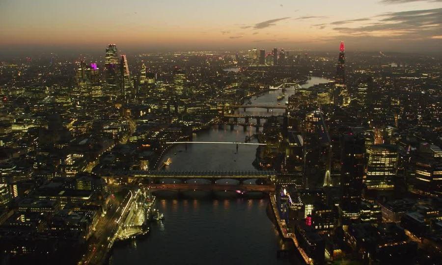 London nhìn từ trên cao