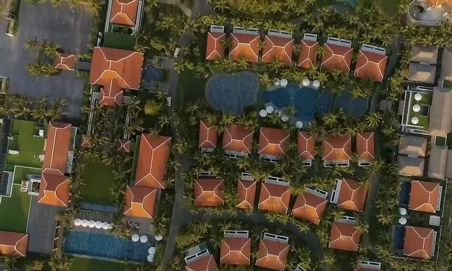Khu nghỉ dưỡng mang phong cách Đông Dương