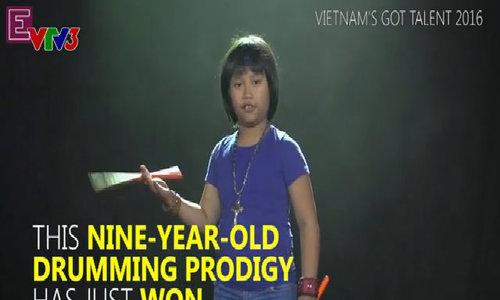 Vietnamese drumming prodigy wows world-famous rock band