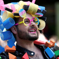 Tens of thousands take to London's streets for annual gay pride parade