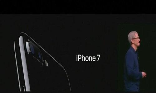 Apple unveils iphone 7