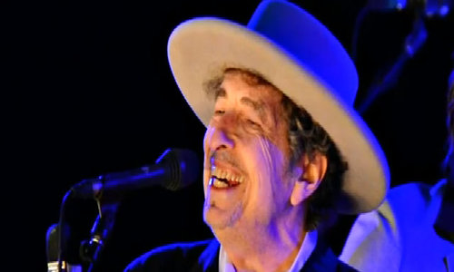 """Greatest living poet"" Bob Dylan winsNobel literature prize"