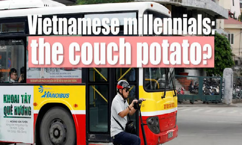 Vietnamese millennials, the couch potato generation