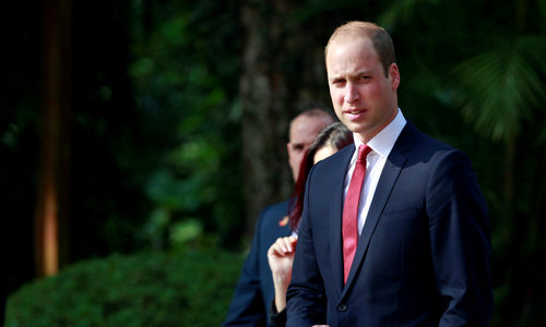Prince William visits Hanoi for wildlife conference