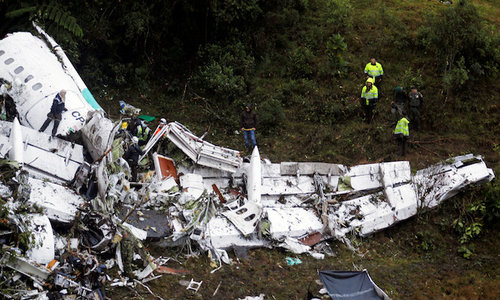 Colombia plane crash: How it happened