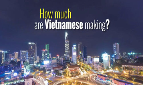 Million-dollar question: How much are Vietnamese making?