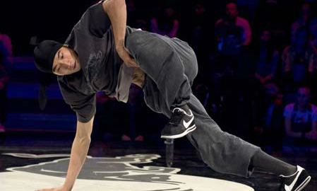 Japanese dancer wins breakdancing world final