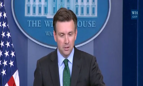 White House supports congressional review of Russian hacking