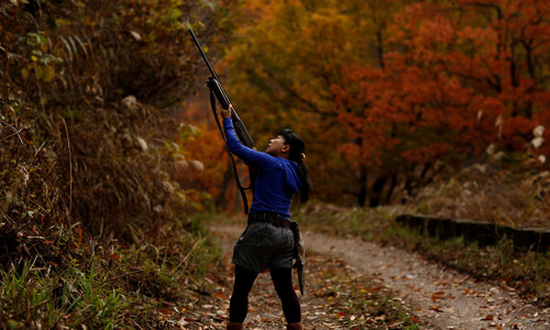 Japan's female hunters tackle stereotypes