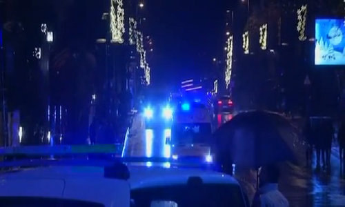 Manhunt under way for Istanbul nightclub attacker